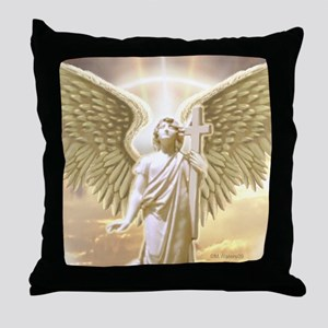 St. Archangel Gabri... Throw Pillow