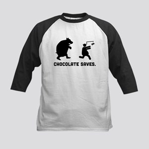 Chocolate Kids Baseball Jersey