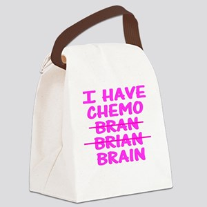 CHEMO Bran Brian Brain Canvas Lunch Bag