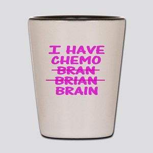 CHEMO Bran Brian Brain Shot Glass
