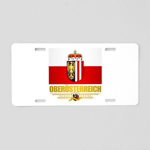Upper Austria Aluminum License Plate