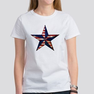 Patriotic Star Women's T-Shirt