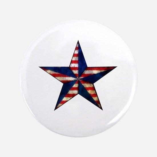 Patriotic Star Button