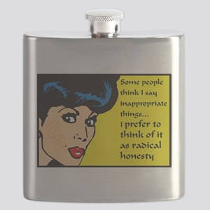I say inappropriate things Flask