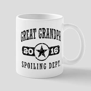 Great Grandpa 2016 Mug