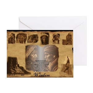Native american wall greeting cards cafepress m4hsunfo