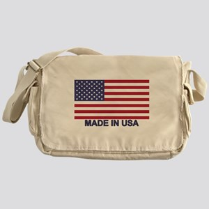 MADE IN USA (w/flag) Messenger Bag
