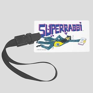 Superrabbi (super Rabbi) Large Luggage Tag
