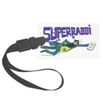 Superrabbi (super Rabbi) Large Luggage Tag