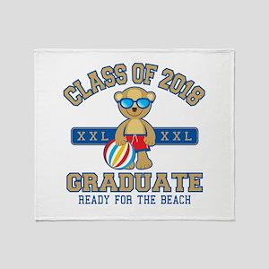 2018 Grad Throw Blanket