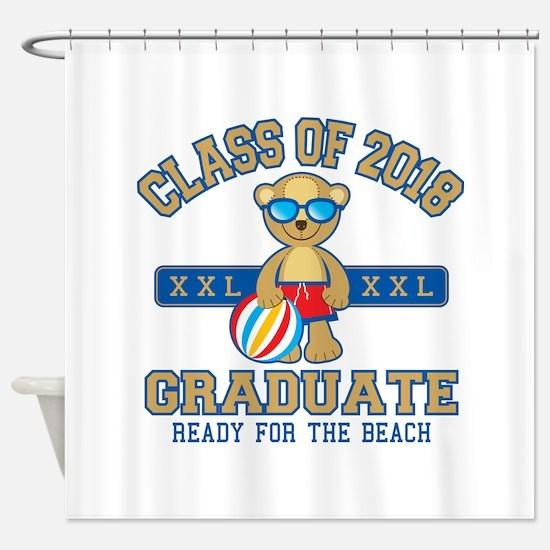2018 Grad Shower Curtain