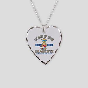 2018 Grad Necklace Heart Charm