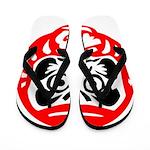 Bodhidharma Flip Flops