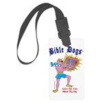 Bible Dogs Large Luggage Tag