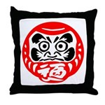 Bodhidharma Throw Pillow