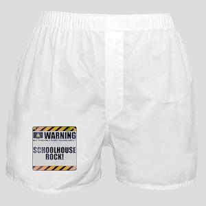 Warning: Schoolhouse Rock! Boxer Shorts