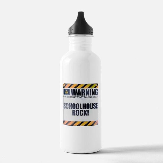 Warning: Schoolhouse Rock! Sports Water Bottle