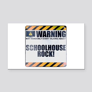 Warning: Schoolhouse Rock! Rectangle Car Magnet