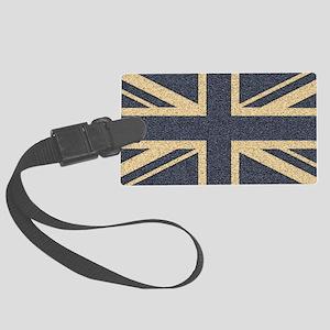Union Jack Large Luggage Tag