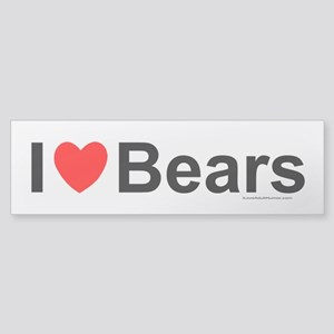 Bears Sticker (Bumper)