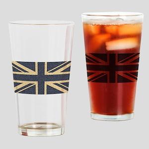 Union Jack Drinking Glass