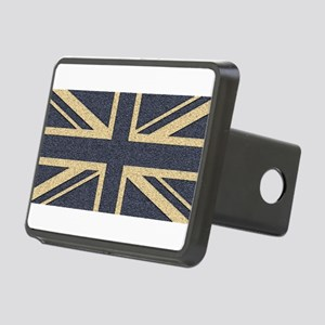 Union Jack Rectangular Hitch Cover