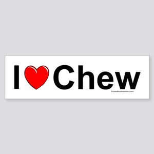 Chew Sticker (Bumper)