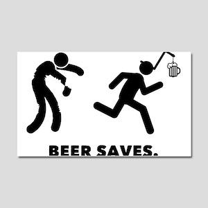 Beer Car Magnet 20 x 12