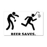 """Beer running 12"""" x 20"""""""