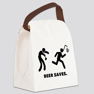 Beer Canvas Lunch Bag