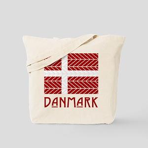 Chevron Danmark Tote Bag