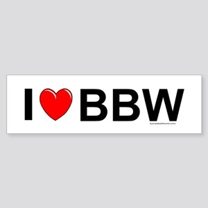 BBW Sticker (Bumper)