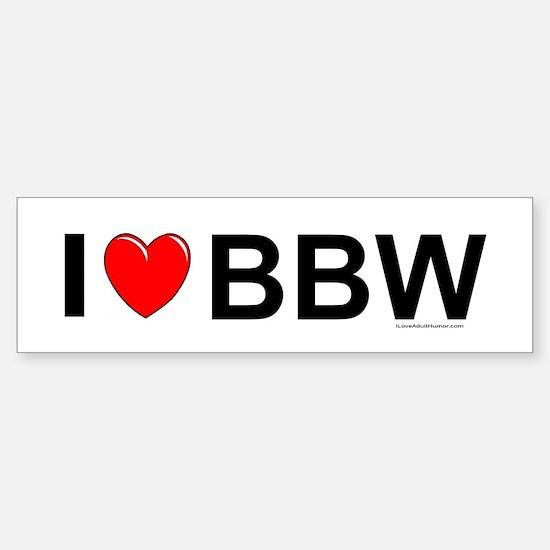 BBW Sticker (Bumper)