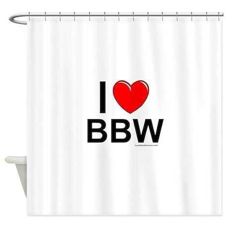 Hot bbw showering