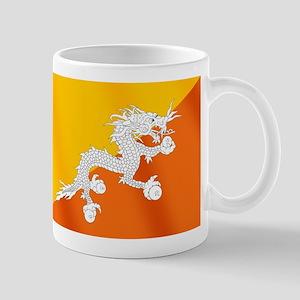Flag of Bhutan 11 oz Ceramic Mug
