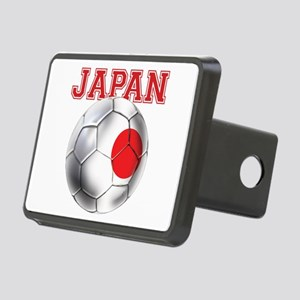 Japan Football Rectangular Hitch Cover