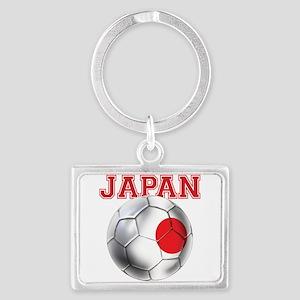 Japan Football Landscape Keychain