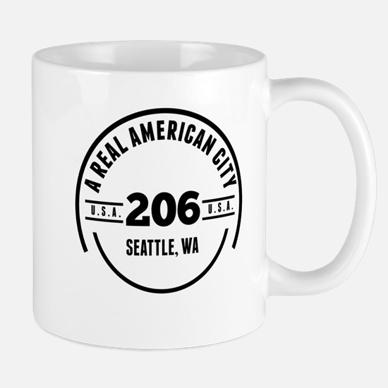 A Real American City Seattle WA Mugs