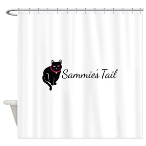 Cat And Guitar Shower Curtains