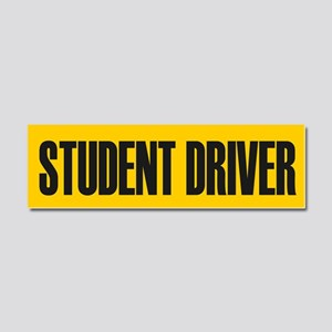 Student Driver Car Magnet 10 x 3