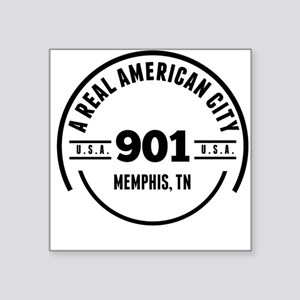A Real American City Memphis TN Sticker