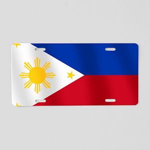 Philippines Flag Aluminum License Plate