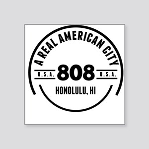 A Real American City Honolulu HI Sticker