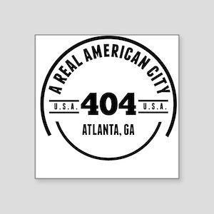 A Real American City Atlanta GA Sticker