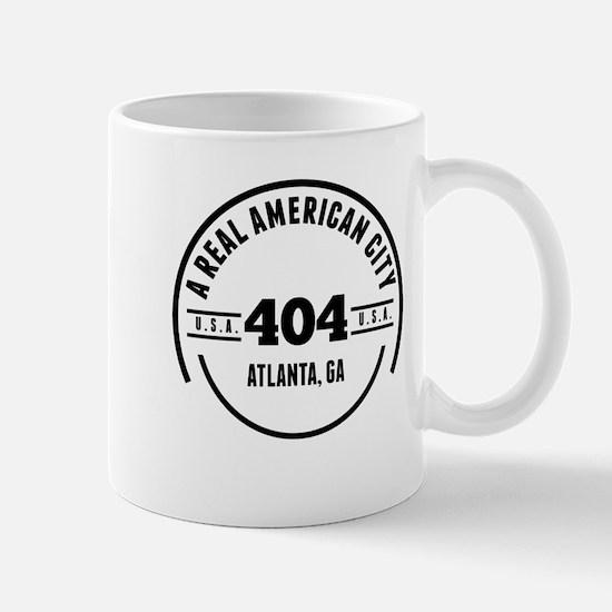 A Real American City Atlanta GA Mugs