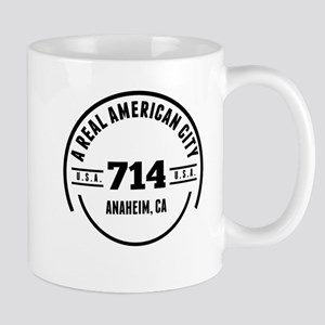 A Real American City Anaheim CA Mugs
