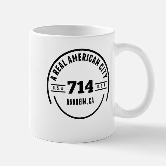 A Real American City Anaheim CA Mugs