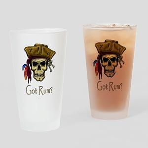 Got Rum? Drinking Glass