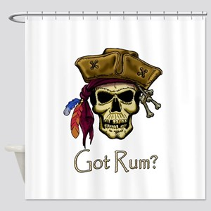 Got Rum? Shower Curtain