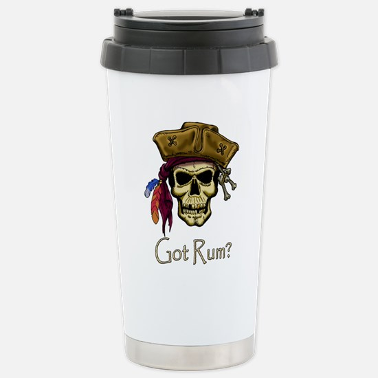 Got Rum? Stainless Steel Travel Mug